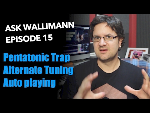 pentatonic trap, tuning in 4th, automatic playing - ask wallimann #15