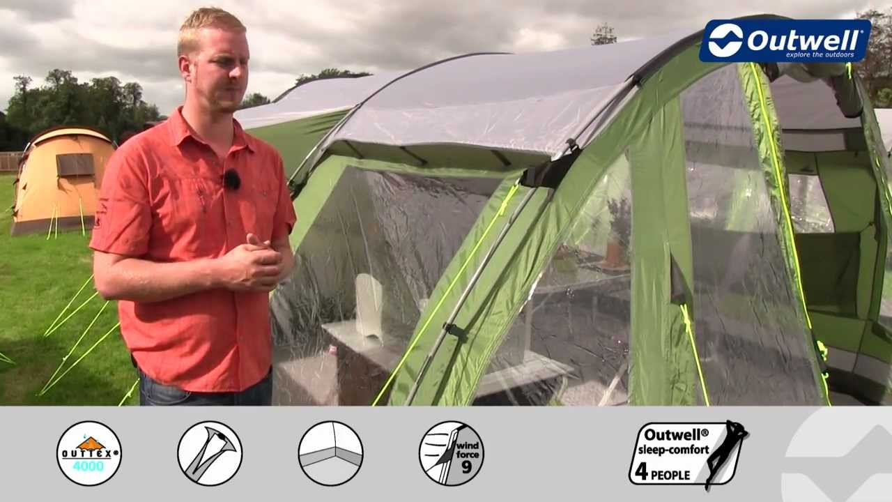 Outwell Tent Nevada XLP  sc 1 st  YouTube & Outwell Tent Nevada XLP - YouTube
