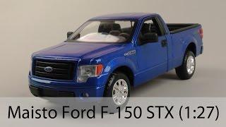 Розпакування Maisto Ford F-150 STX (1:27)