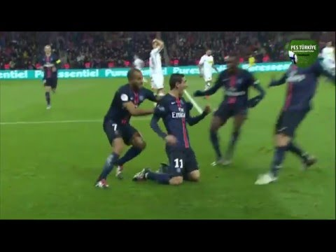 Incredible goal from Angel Di Maria !  ( PSG - Toulouse )