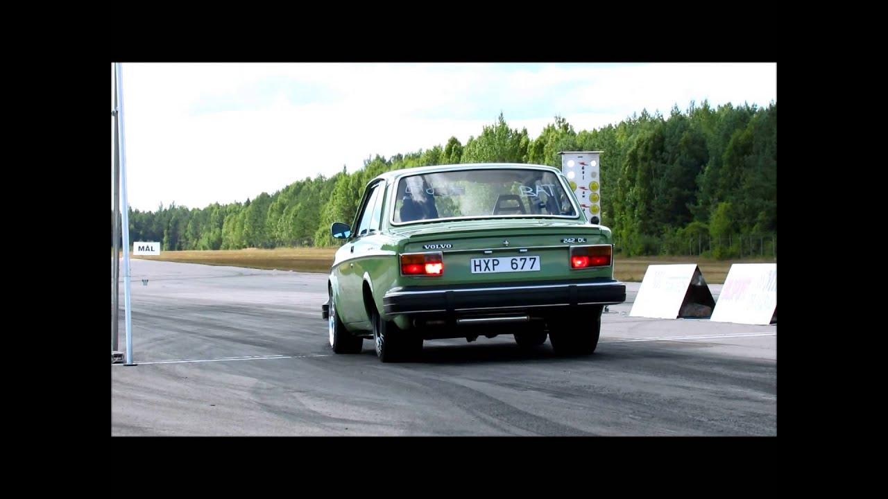 Volvo 242 Ls1 Turbo - YouTube