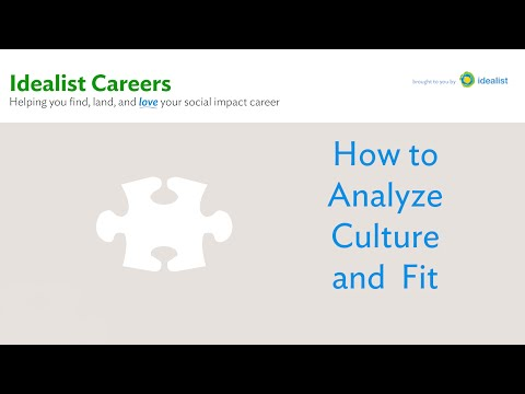 How to Analyze Culture and Fit