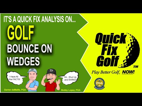 Wedges And The Bounce Factor
