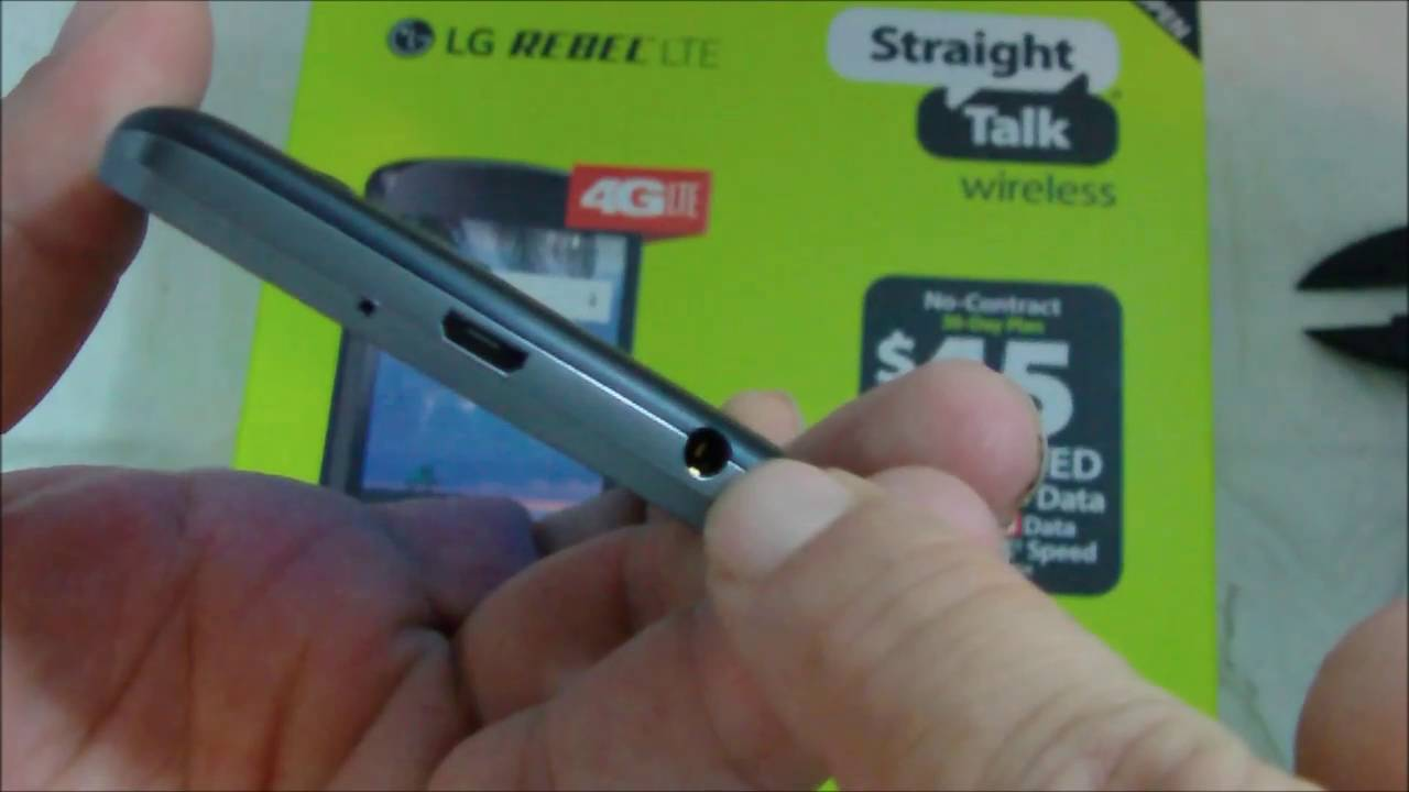 Straight Talk LG Rebel LTE Review
