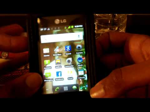 LG Optimus Q Overview & New Accesories