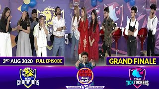 Game Show Aisay Chalay Ga League Season 2 Grand Finale | 3rd August 2020 | Champions Vs TickTockers
