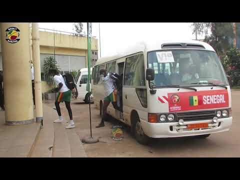 Afrobasket - Egypte/Sénégal : L'arrivée des lionnes au Palais des sports