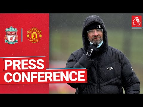 Jürgen Klopp's pre-match press conference | Manchester United