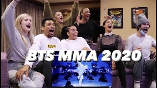 BTS at the 2020 MMA FULL REACTION WITH FRIENDS