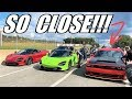 The 720 DOMINATED The Callout!!! BUT ONE Car Beat Me...