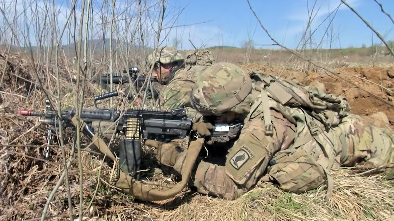 Paratroopers Conduct Squad Live-Fire - Serrated Edge 19