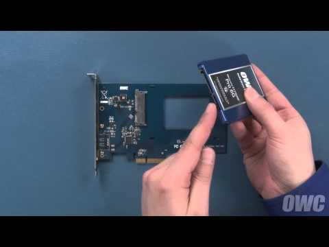 OWC Accelsior S Assembly and Installation Video