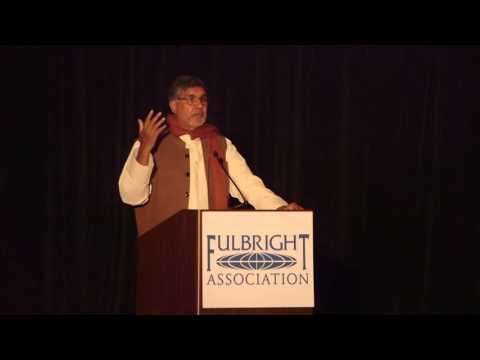 "Kailash Satyarthi's Keynote: Education Opens Doorways to Human Rights"""