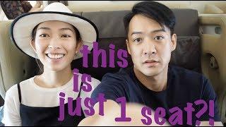 s&j SiNGAPORE airlines' BUSiNESS class is MASSiVE!!! 新加坡航空 最寬敞既 商務機艙