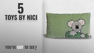 Top 10 Nici Toys [2018]: NICI Rectangular Koala Plush Pillow