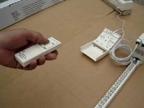 Operation Instruction Of Diy Electric Remote Control Curtain Track Part 1