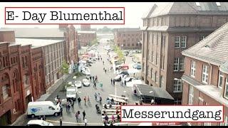 Messerundgang E-Day in Bremen-Blumenthal mit E-Auto Treffen am 15.09.2018
