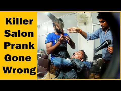 Dangerous Salon Prank Gone Wrong - Ft. Sunny Aryaa | The HunGama Films