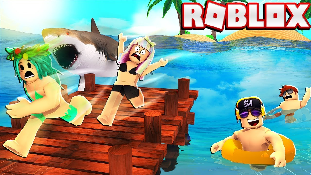 Trapped at a ROBLOX Summer Camp with My Family! -- Escape Obby