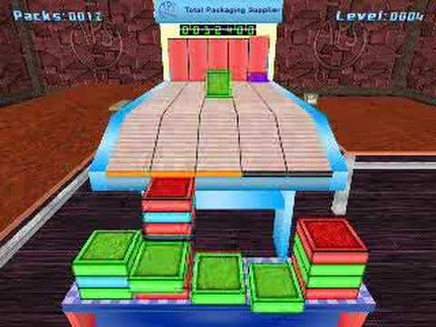 packin plax klax tetris style block puzzle game raw footage youtube