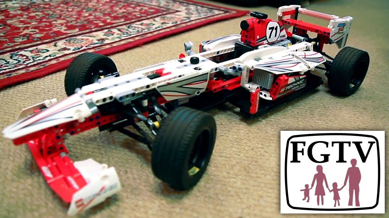 Lego Technic Set Review 42000 F1 Grand Prix Racer Review Unboxing Build Youtube