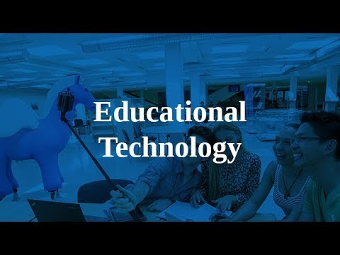 Info Session for Educational Technology MA programme
