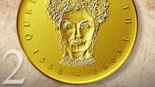 Photoshop: Part 2 - Create a Gold, Medallion Coin Portrait