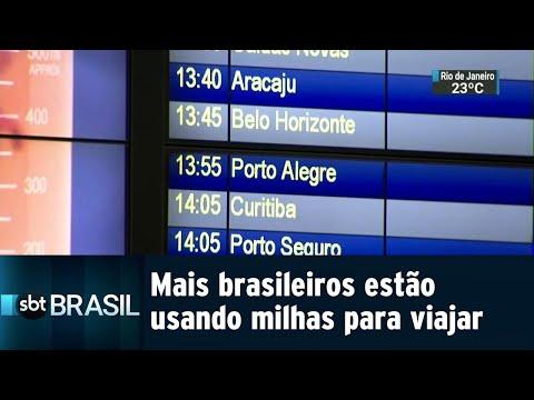 Programas de milhagens aéreas estão mais populares no Brasil | SBT Brasil (21/07/18)