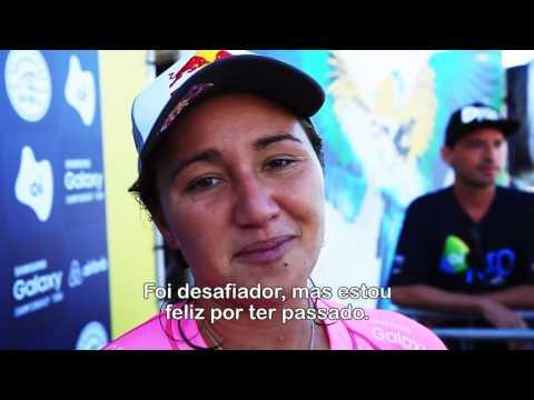 Final do Round 4 feminino - Rio Pro 2016