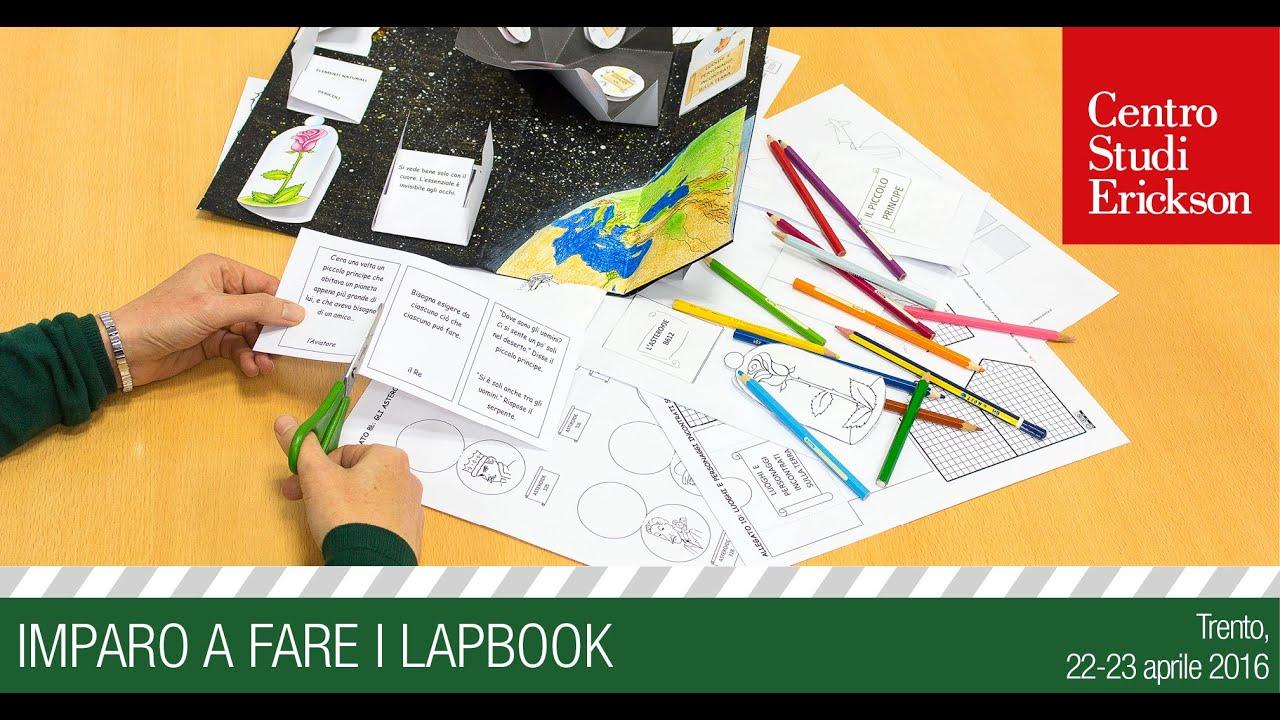 """Célèbre Laboratorio Interattivo Manuale: """"Imparo a fare i lapbook"""" - YouTube JT81"""