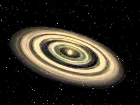 Accretion disk - planetary formation