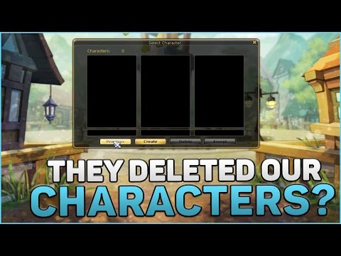 FlyFF Gameplay | WTF – THEY DELETED OUR CHARACTERS?
