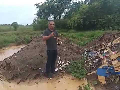 VEREADOR DE PEDRAS DE FOGO DENUNCIA POLUIÇÃO AMBIENTAL
