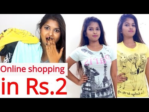Buy ONLINE CLOTHES in Rs.2 ONLY|| for WOMEN & MEN ||World Cheapest HUAL||Namrata Singh