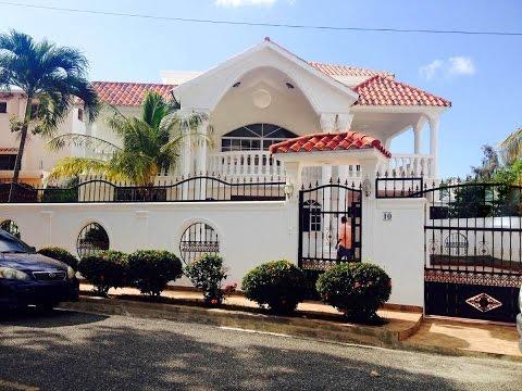 Casa Amplia En Venta En Santo Domingo República Dominicana 81403