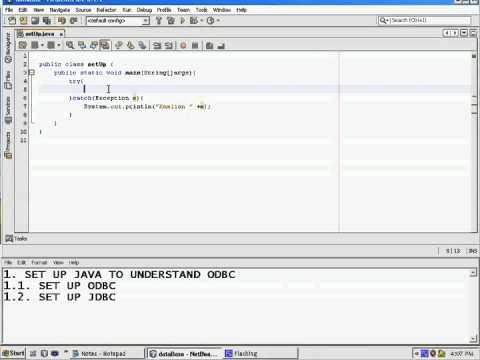 JDBC Lesson 3 Set DriverManager JDBC