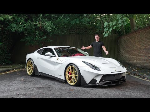 HERE'S A TOUR OF OUR £400,000 CUSTOM FERRARI F12!