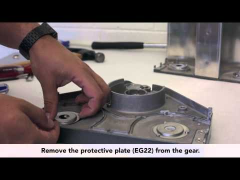 How to replace the axle bearings