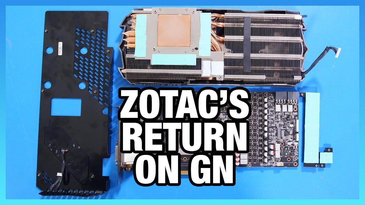 ZOTAC 1080 Ti Amp Extreme Tear-Down