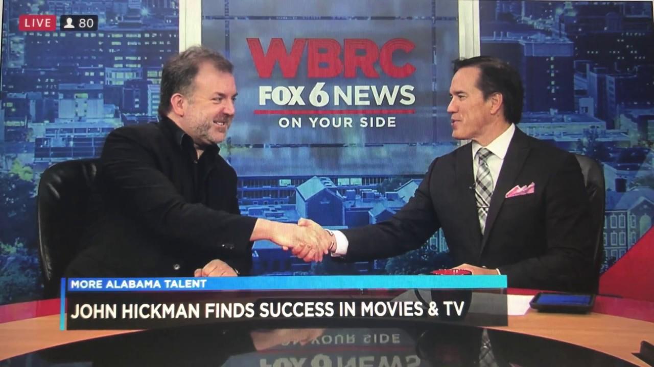 John Hickman Interview - WBRC Fox 6 - Good Day Alabama -