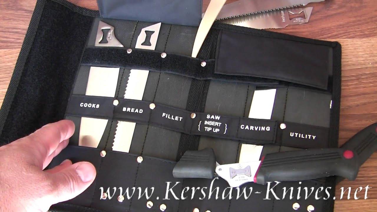Bon Kershaw Deluxe Blade Trader Knife 1099DBTX Demo