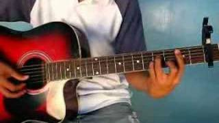 Because Of You (of Ne-Yo, by www.guitartutee.com)