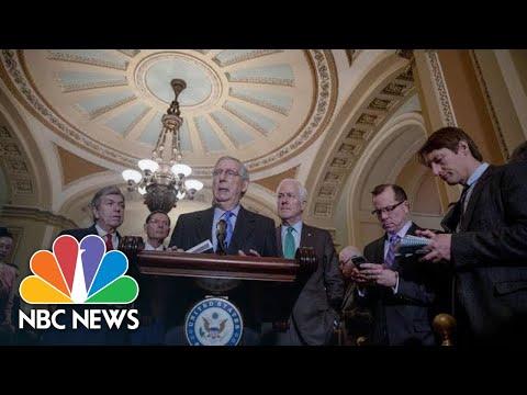 Mitch McConnell Convinced Government Shutdown Won't Happen   NBC News