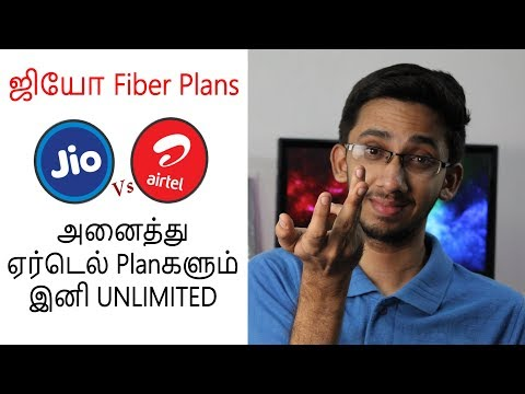 Jio GigaFiber Plans & அனைத்து Airtel Broadband Planகளும் இனி UNLIMITED | Tamil | Tech Satire