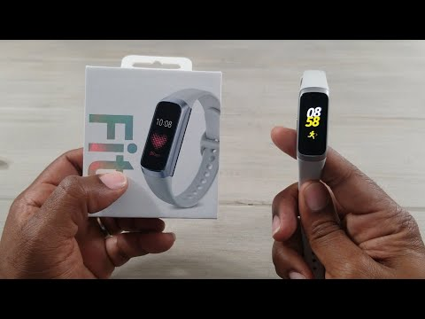Samsung Galaxy Fit Review Samsung's Fitbit...