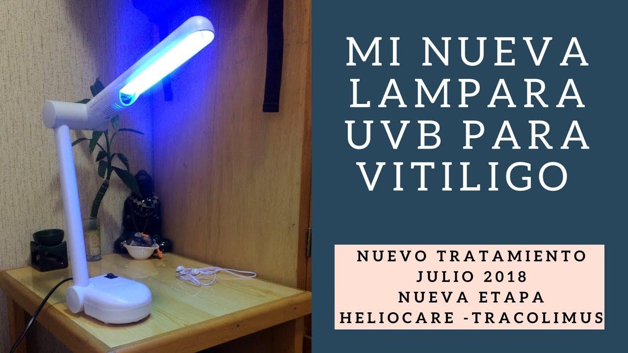 para julio Lampara Mi UVB tratamiento nueva Heliocare Vitiligo Nuevo 2018 ynvPN0wOm8