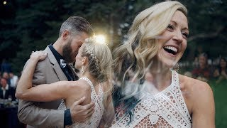 Ellen & Kent : A Riverside Wedding Day : Silverthorne, CO