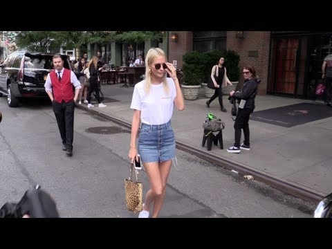Sexy Poppy Delevingne s off some legs while in New York for the Fashion Week