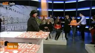 ZDF: Bruno Kramm, Piratenpartei Spitzenkandidat im Rededuell 28|11|12