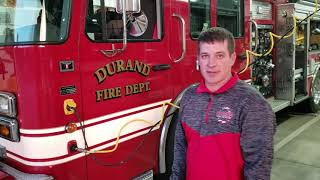 Durand City/Rural Fire Department  Station Tour 2020